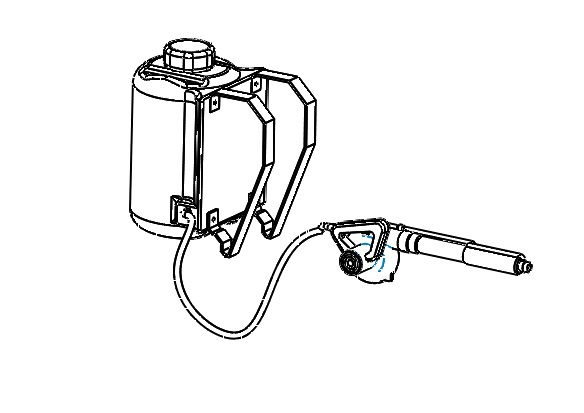 Hand Held Steam Sprayer-2