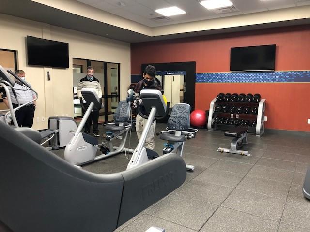 Hampton Inn Gym Cleaning 3