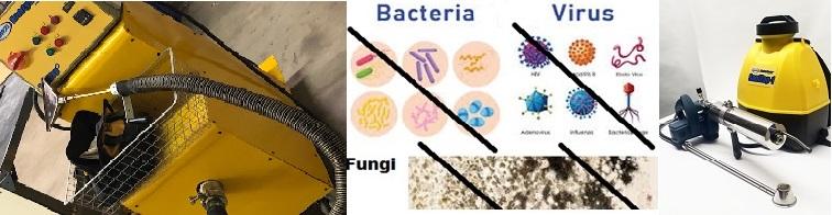 Eliminate Bacteria Virus Fungi with Proper Steam