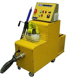 SaniZap-4 with powerful steam degreaser technology